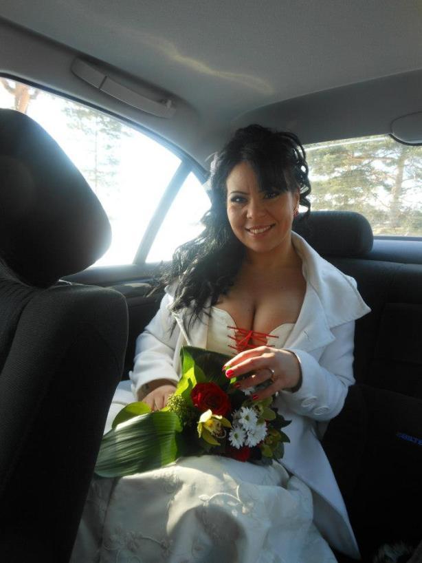 My stunning bride!