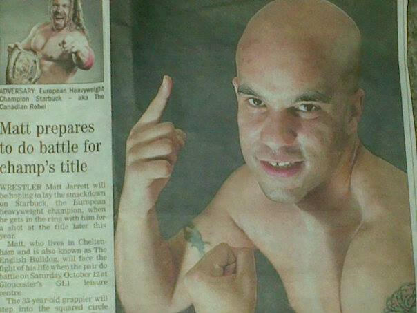 The English press covers my upcoming match