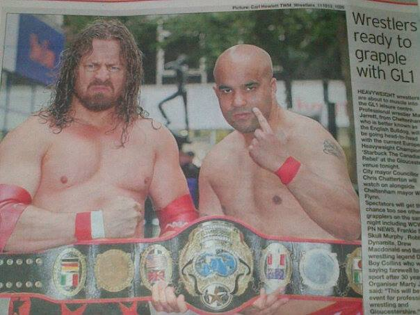 The Citizen newspaper runs a big piece on my match