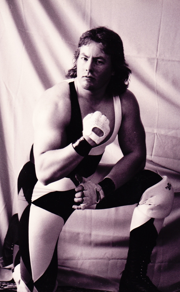 My first official promo pic from 1994 (photo by Sam Leppänen)