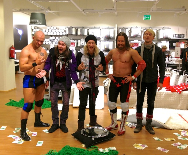Ricky Vendetta and I will be featured on the Dudesons TV show this spring.