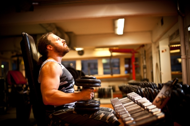 Getting gassed during training is a good sign, it means you are training hard (photo Marko Simonen)
