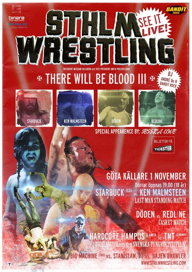 STHLM Wrestling There Will Be Blood III
