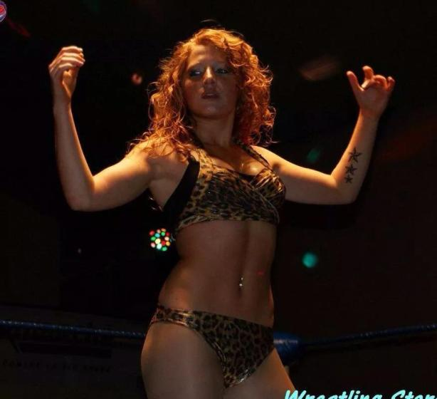 Miss Agathe of Wrestling Stars, France