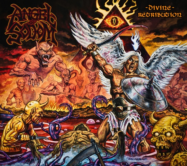 Angel of Sodom Divine Retribution album cover