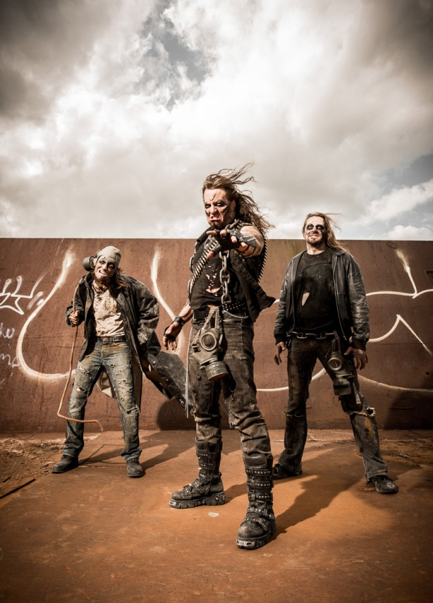 Angel of Sodom (left to right): Joonas Heikkinen, Michael Majalahti, Eero Tertsunen