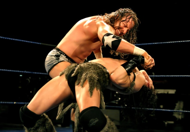 Back on May 26, 2006, I lost the Finnish wrestling championship to Stark Adder in one of the greatest matches ever in the Nordics (photo: Kari Helenius)