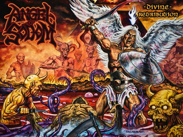 Angel of Sodom - Divine Retribution COVER
