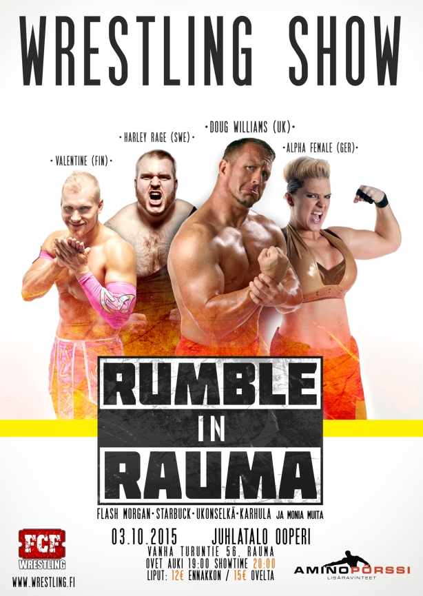 Rumble in Rauma poster