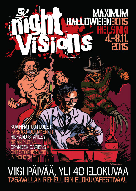 Night Visions 2015 poster by StarBuck