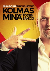 Niko Kivelä Kolmas Minä tour