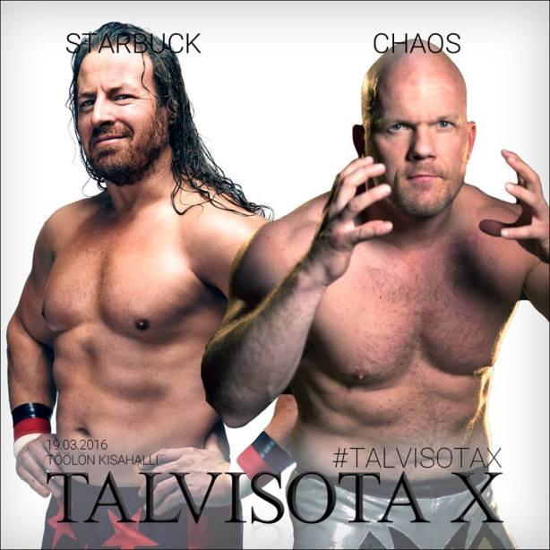 StarBuck vs Chaos Talvisota X Winter War 10 FCF Wrestling