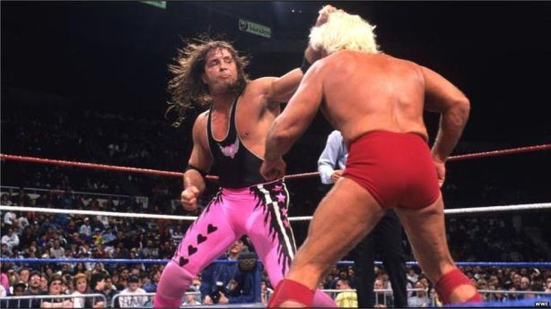 Bret Hart vs Ric Flair