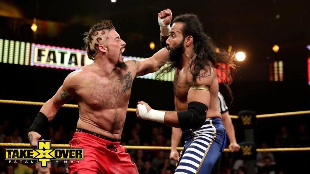 Tom LaRuffa vs Enzo Amore NXT Takeover