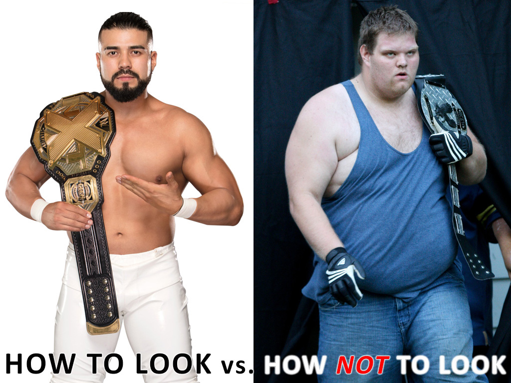 How to Look in Pro Wrestling