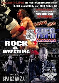 Friday Nite Rockfight 2009 poster
