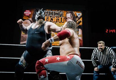 StarBuck vs Demolition Davies 04 ROCK FIGHT by Marko Simonen