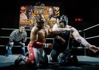 StarBuck vs Demolition Davies 06 ROCK FIGHT by Marko Simonen