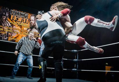 StarBuck vs Demolition Davies 09 ROCK FIGHT by Marko Simonen