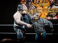 StarBuck vs Demolition Davies 10 ROCK FIGHT by Marko Simonen