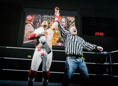 StarBuck vs Demolition Davies 12 ROCK FIGHT by Marko Simonen