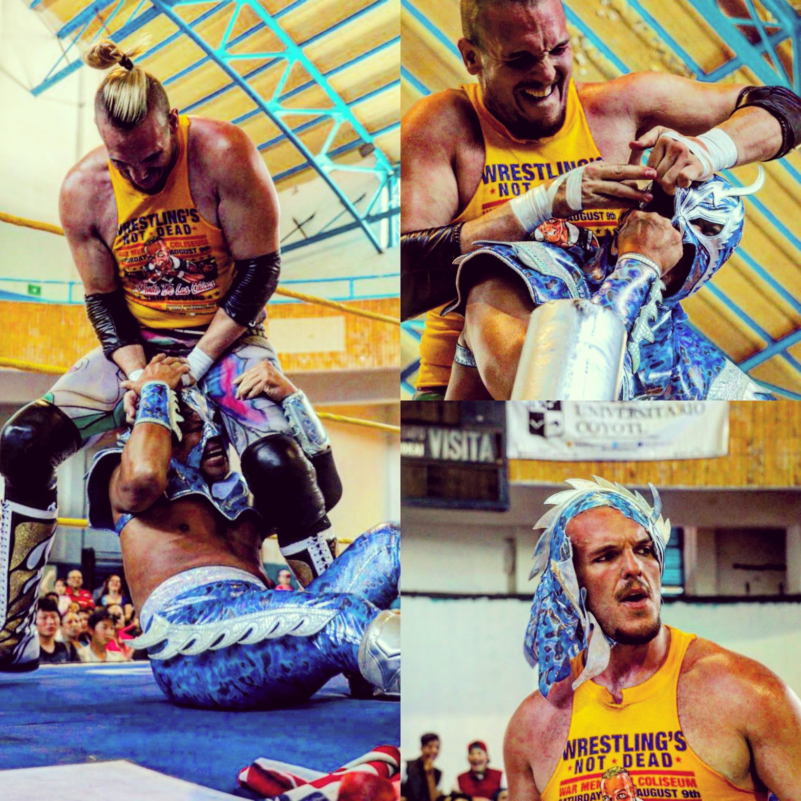 Sam Adonis vs. Ultimo Dragon