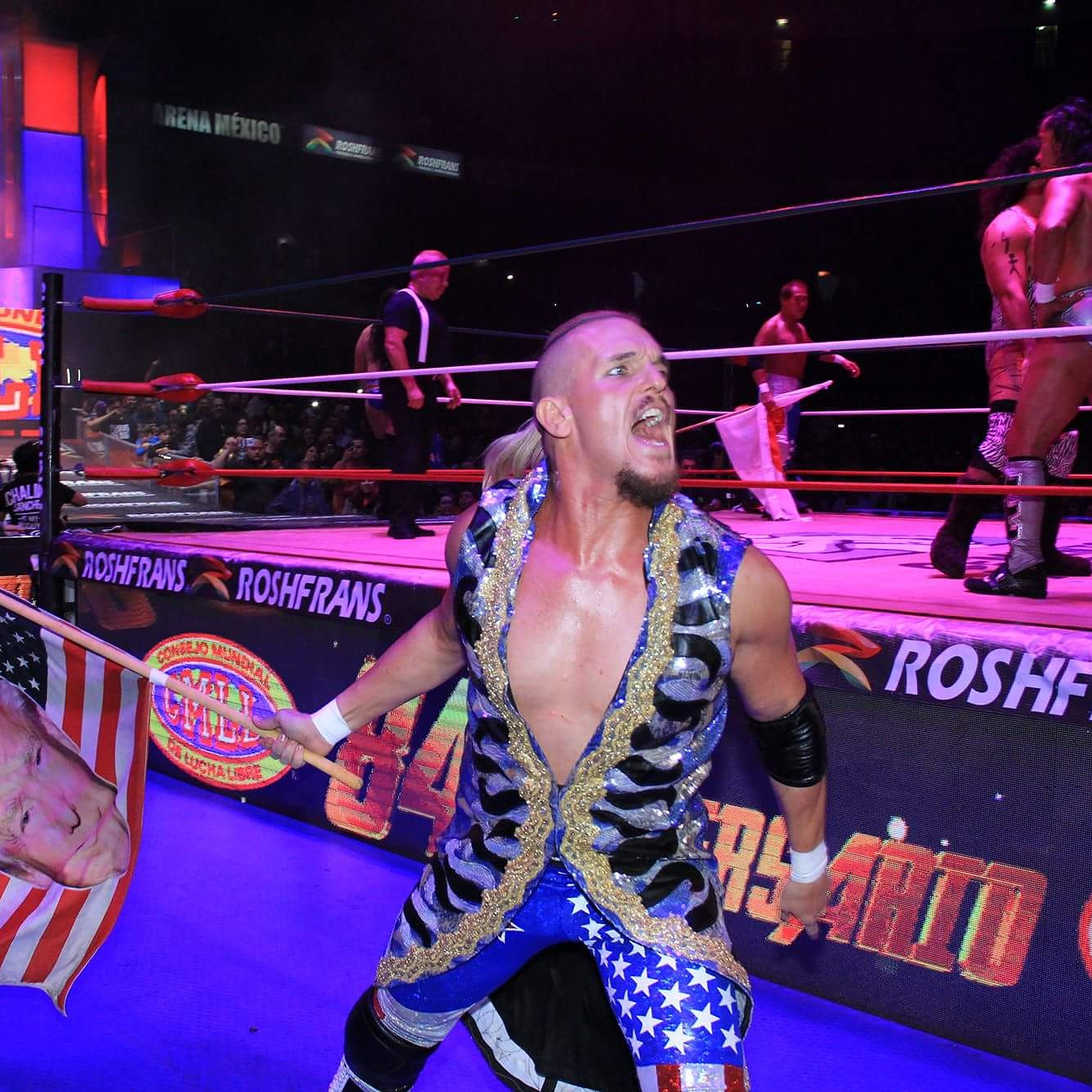 Sam Adonis in CMLL