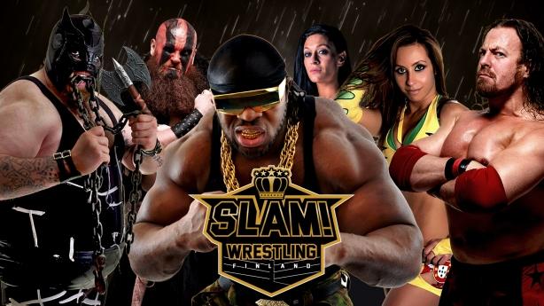 SLAM! Wrestling Finland banner