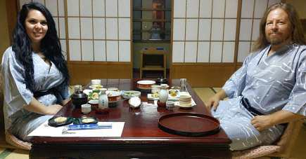 Michael StarBuck Majalahti Diana Majalahti ENOSHIMA Island Japan 2018