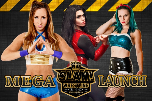 SLAM Mega Launch girls graphic