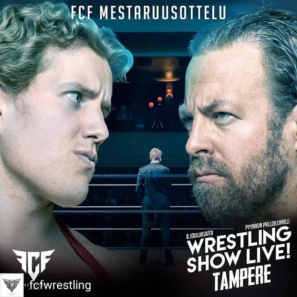 Wrestling Show Live Tampere StarBuck vs Mikko Maestro FCF championship