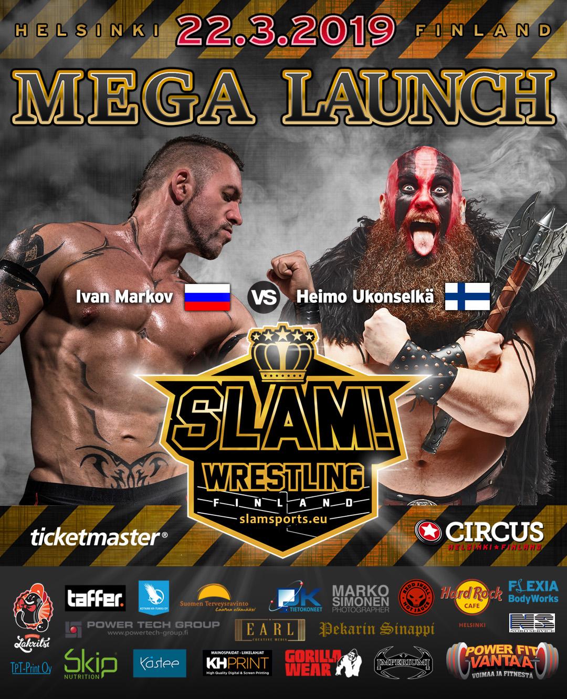 Match banner Ivan vs Heimo MEGA LAUNCH