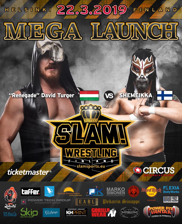 Match banner Renegade vs Shemeikka MEGA LAUNCH