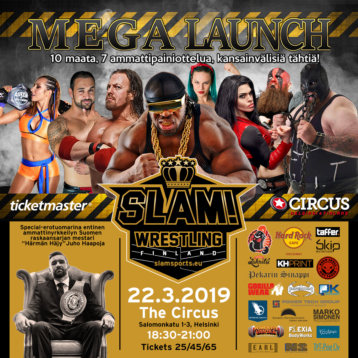 SLAM Mega Launch 1200 x 1200 TICKETMASTER