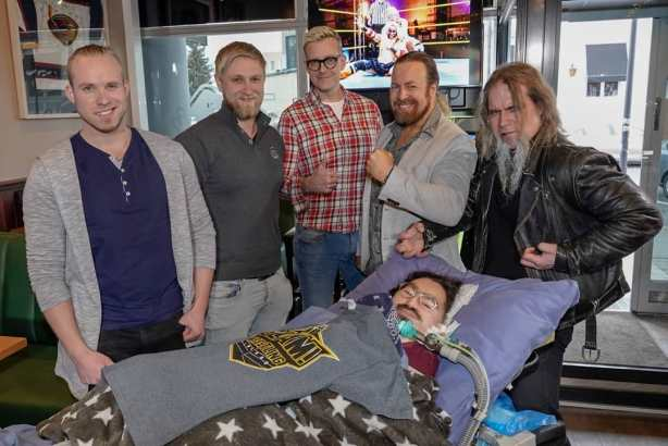 Wrestle Aid pressitilaisuus, kuva Jussi Hietikko
